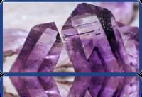 Ametyst surowy - ametyst kryszta³y - ametyst krystalizacja