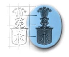 herb na sygnetowce - sygnet srebrny i złoty